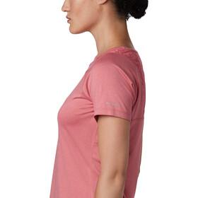Columbia Peak To Point II T-shirt Femme, rouge peak heather